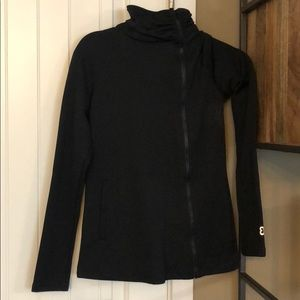 betabrand Tops - Black beta brand top with zipper: NWT!